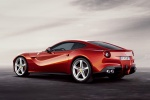 2013 Ferrari F12berlinetta in Rosso Scuderia - Static Rear Left Three-quarter View