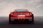 2013 Ferrari F12berlinetta in Rosso Scuderia - Static Rear View