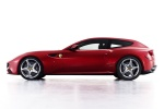 2013 Ferrari FF Coupe in Rosso Scuderia - Static Side View