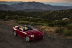 2017 Fiat 124 Spider in Rosso Red - Static Front Right Three-quarter Top View