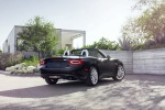 2017 Fiat 124 Spider in Nero Cinema Jet Black - Static Rear Right Three-quarter View