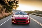 2017 Fiat 124 Spider in Rosso Red - Driving Frontal View