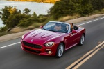 2017 Fiat 124 Spider in Rosso Red - Driving Front Left View