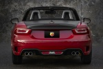 2017 Fiat 124 Spider Abarth in Rosso Red - Static Rear View