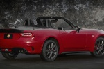 2017 Fiat 124 Spider Abarth in Rosso Red - Static Rear Right Three-quarter View