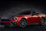 2017 Fiat 124 Spider Abarth in Rosso Red - Static Front Left Three-quarter View