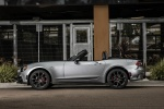 2017 Fiat 124 Spider Abarth in Grigio Argento - Static Side View