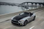 2017 Fiat 124 Spider Abarth in Grigio Argento - Driving Front Left View