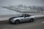 2017 Fiat 124 Spider Abarth in Grigio Argento - Driving Front Left Three-quarter View