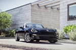 2017 Fiat 124 Spider in Nero Cinema Jet Black - Static Front Right View