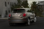 2016 Fiat 500X in Bronzo Magnetico Opaco - Static Rear Right View