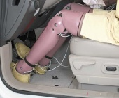 2010 Ford Edge IIHS Frontal Impact Crash Test Picture