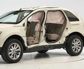 2010 Ford Edge IIHS Side Impact Crash Test Picture