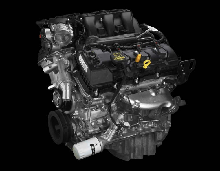 Ford Edge Sport   Liter V Engine Picture