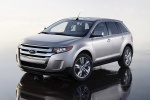 2011 Ford Edge Limited in Ingot Silver Metallic - Static Front Left View