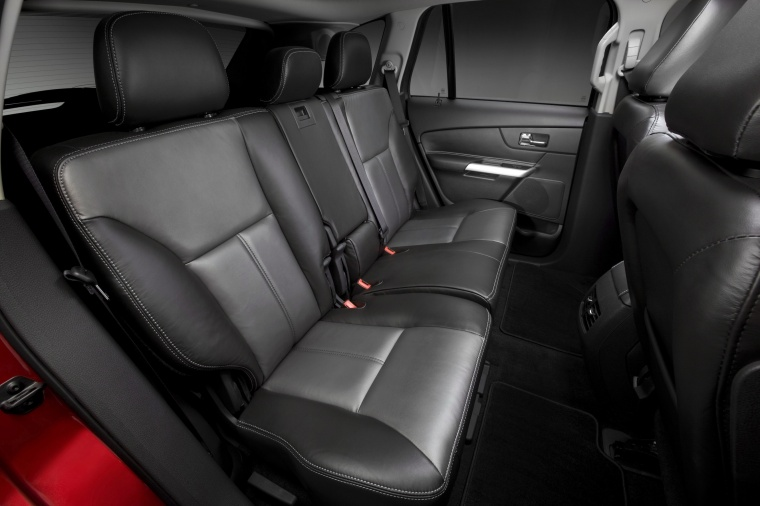 2013 ford edge sport rear seats picture pic image. Black Bedroom Furniture Sets. Home Design Ideas