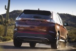 2017 Ford Edge Titanium - Driving Rear Right View
