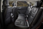 2017 Ford Edge Titanium Rear Seats in Ebony