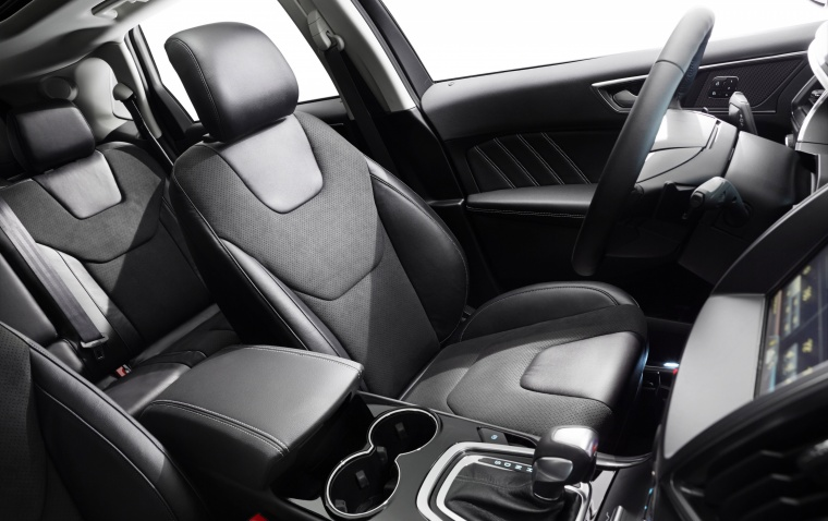 2018 Ford Edge Sport Front Seats Picture
