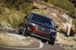 2018 Ford Edge Titanium - Driving Front Right View
