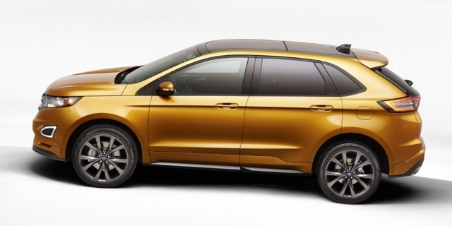 2018 Ford Edge Pictures