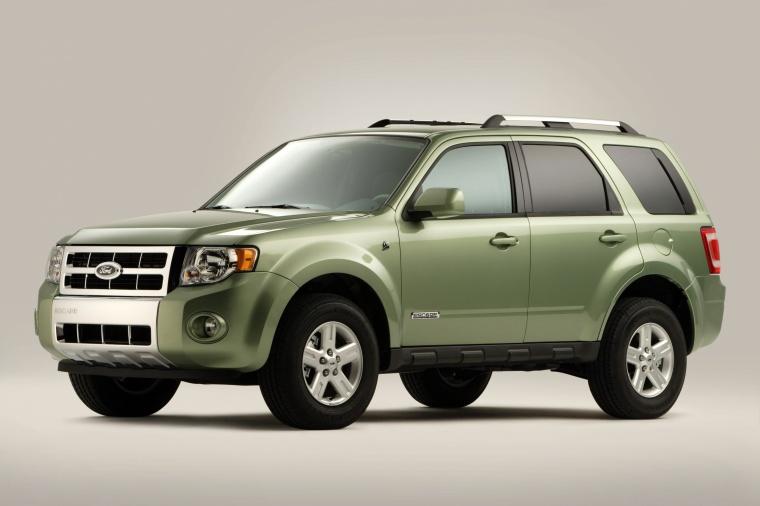 Ford Hybrid Suv >> 2011 Ford Escape Hybrid in Kiwi Green Metallic Color ...