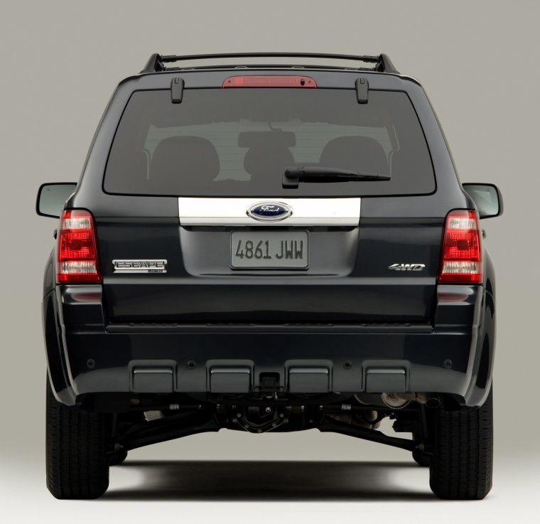 2011 Ford Escape Limited In Black Color Static Rear