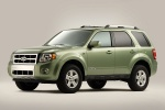 2012 Ford Escape Hybrid in Kiwi Green Metallic - Static Front Left Three-quarter View