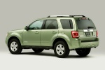 2012 Ford Escape Hybrid in Kiwi Green Metallic - Static Rear Left Three-quarter View