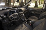Picture of a 2014 Ford Escape's Interior in Charcoal Black
