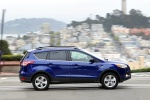 Picture of a 2014 Ford Escape SE in Deep Impact Blue from a side perspective