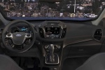 Picture of a 2015 Ford Escape's Cockpit in Charcoal Black