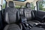 Picture of a 2015 Ford Escape's Rear Seats in Charcoal Black