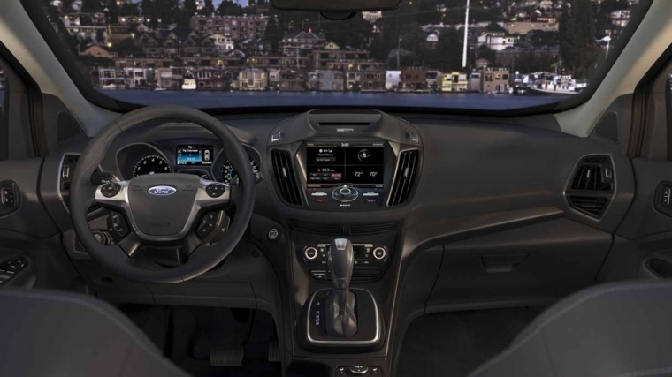 2016 Ford Escape Cockpit Picture