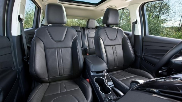 2016 Ford Escape Rear Seats Picture