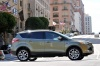 Driving 2016 Ford Escape Titanium 4WD from a right side view