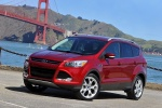 2016 Ford Escape Titanium 4WD in Ruby Red Tinted Clearcoat - Static Front Left Three-quarter View