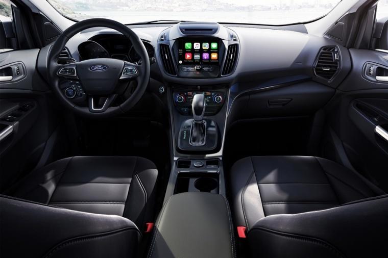 Picture of a 2017 Ford Escape Titanium's Cockpit