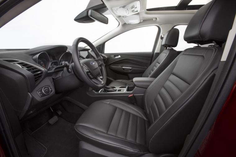 Picture of a 2017 Ford Escape Titanium's Front Seats