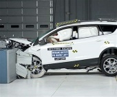 2017 Ford Escape IIHS Frontal Impact Crash Test Picture
