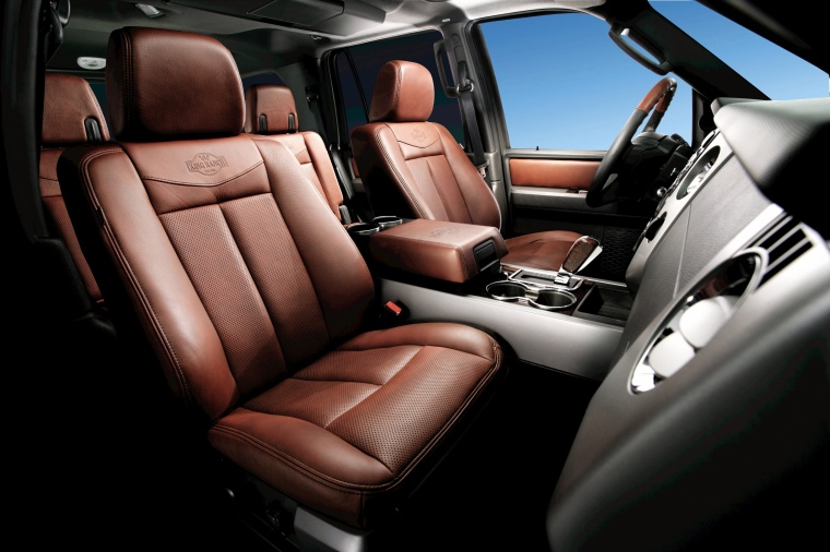 2010 Ford Expedition King Ranch Interior Picture