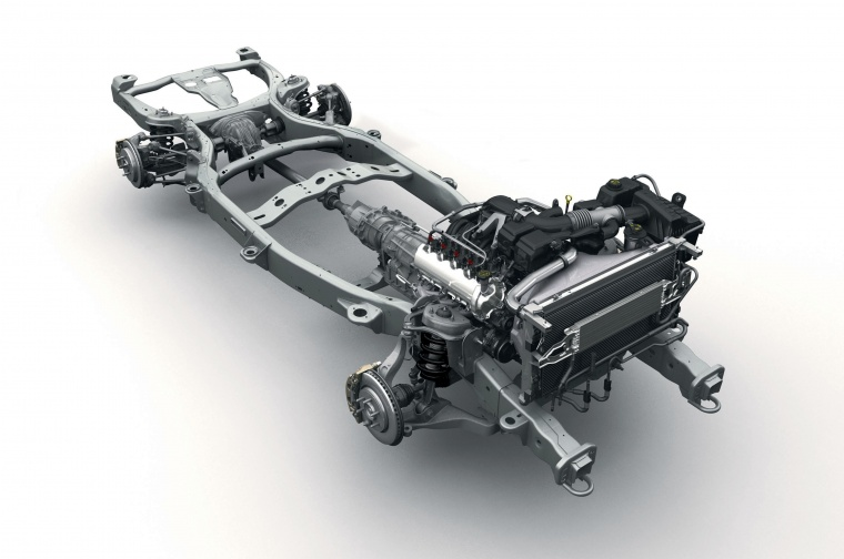 Ford Expedition Drivetrain Picture