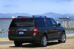 2011 Ford Expedition EL in Tuxedo Black Metallic - Static Rear Right Three-quarter View
