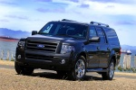 2011 Ford Expedition EL in Tuxedo Black Metallic - Static Front Left Three-quarter View