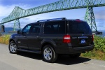 2011 Ford Expedition EL in Tuxedo Black Metallic - Static Rear Left Three-quarter View