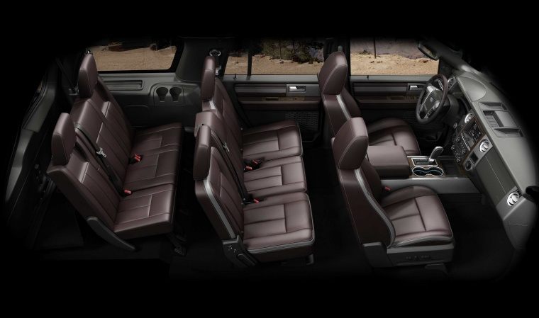 Picture of a 2017 Ford Expedition Platinum's Interior