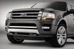 Picture of a 2017 Ford Expedition Platinum's Front Fascia