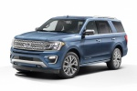 2019 Ford Expedition Platinum in Blue Metallic - Static Front Left Three-quarter View