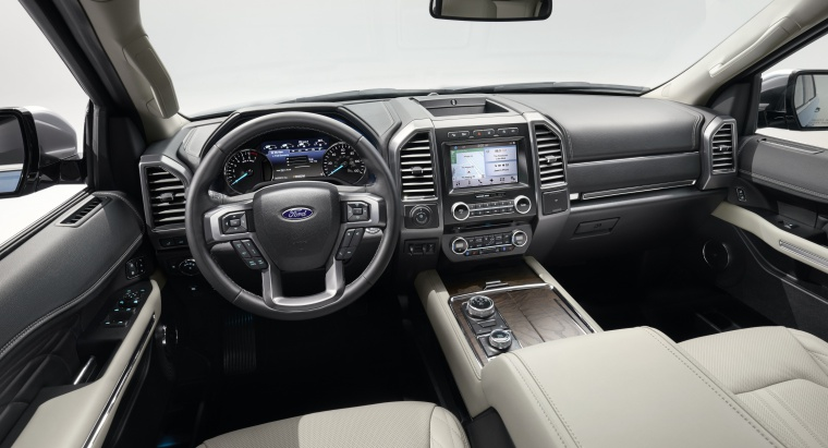 Picture of a 2020 Ford Expedition's Cockpit