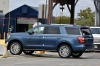 Picture of a 2020 Ford Expedition Limited in Blue Metallic from a rear left three-quarter perspective